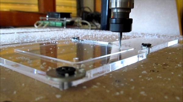 Gia công mica bằng laser